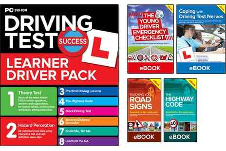 Groupon Goods Global GmbH - Learn to Drive Driving Test Bundle suitable for All 2017 or 2018 Tests for Pc, Mac, Dvd, Mobile - Save 84%