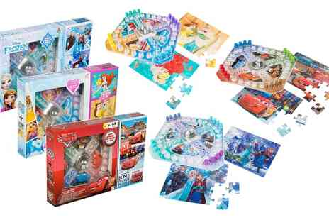 Groupon Goods Global GmbH - Sambro International Disney Character Popup Board Game and Puzzle Set - Save 0%