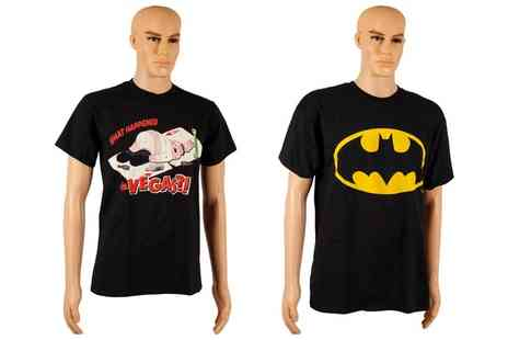 Groupon Goods Global GmbH - Batman or Family Guy Mens Tshirt in Choice of Size - Save 0%