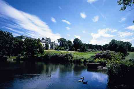 Shrigley Hall Hotel - 18 Holes of Golf with Bacon Roll and Hot Drink for Two or Four - Save 49%