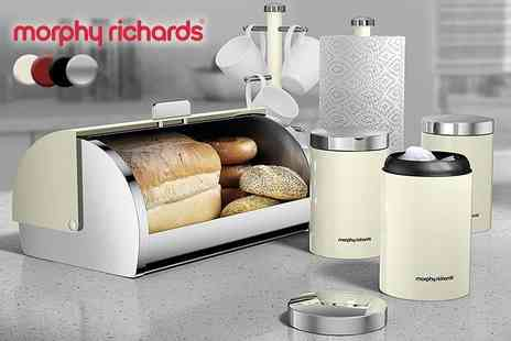 Deals Direct - Six piece Morphy Richards kitchen set - Save 57%