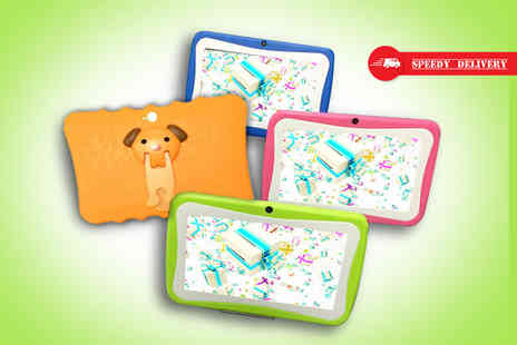 Jaoyeh - Colourful 7 inch android 5.0 quad core childrens tablet, with a limited number available - Save 90%