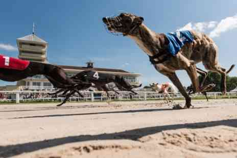 Towcester Racecourse - Greyhound Racing with Food, Drink, Programme and £2 Bet for Up to Ten People - Save 58%