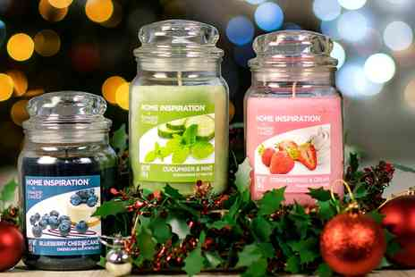 Groupon Goods Global GmbH - One, Two or Four Yankee Candle Home Inspiration Large Fruity Jars 538g - Save 0%