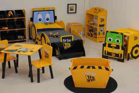 Groupon Goods Global GmbH - Kidsaw Jcb Childrens Furniture Set - Save 0%