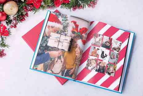 Photobook - 40 Page Debossed Hardcover Photobook in Choice of Size - Save 50%