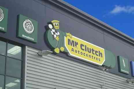 Mr Clutch Autocentres - Interim Service with Stamp and Optional Mot Test - Save 55%