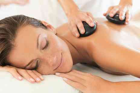 The Organic Treatment Company - Winter Warmer Hot Stone Massage, Facial and Optional Express Manicure - Save 68%