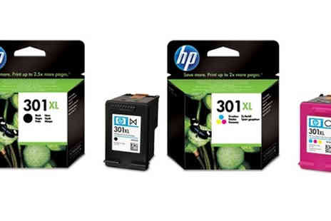 Cartridge King - Hp 301XL High Yield Ink Cartridges Available in Black or Coloured - Save 0%