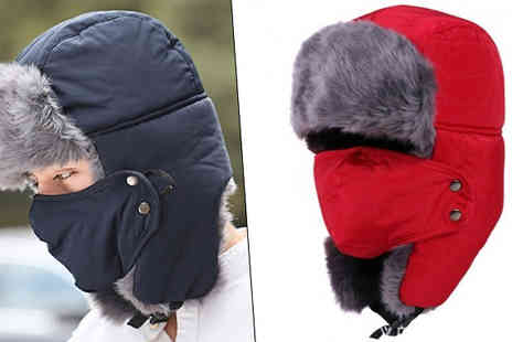 Richardson Group - Unisex Faux Fur Bomber Hat Choose 4 Colours - Save 52%