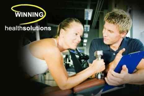 Winning Health Solutions - Two Personal Training Sessions Plus Consultation and Body Fat Analysis - Save 91%