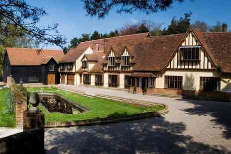 The Legacy Great Hallingbury Manor Hotel - Tudor style manor stay with dinner - Save 47%