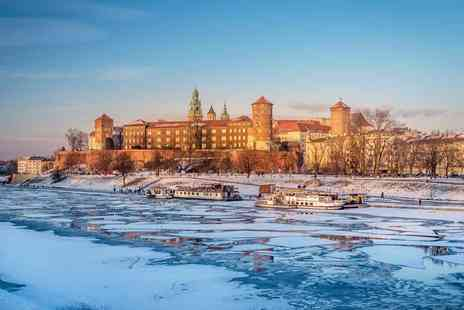 Refresh Holidays - Three night 4 Star Krakow spa stay with breakfast, flights and Auschwitz tour option - Save 57%