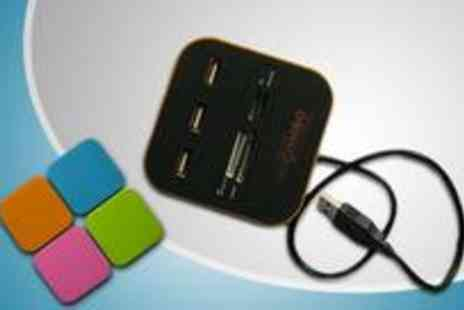 Gadgets n Gears - Multi function USB hub and card reader - Save 71%