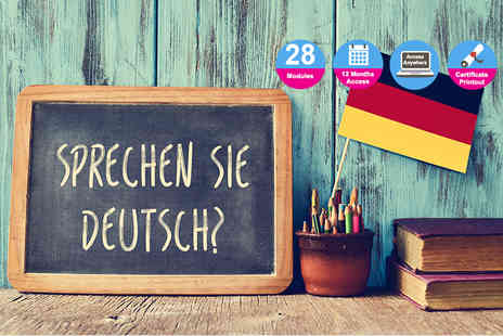 Vizual Coaching - Online German language course - Save 91%