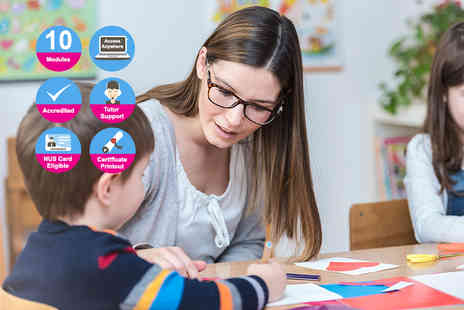 New Skills Academy - Accredited EYFS teaching diploma - Save 94%