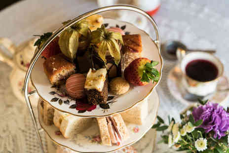 The Dearden Tearooms - Sparkling afternoon tea for two indulge - Save 46%
