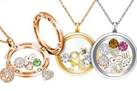 Neverland Sales - Mestige Floating Charm Locket with Crystals from Swarovski With Free Delivery - Save 79%