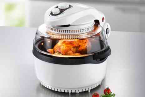 Groupon Goods Global GmbH - GourmetMaxx 1400W Halogen and Hot Air Oven Xxl With Free Delivery - Save 52%