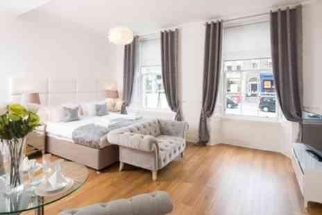 Luxury Edinburgh Apartments - One Night Stay for Two or Six - Save 0%