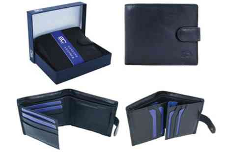 Groupon Goods Global GmbH - Adam Carter Rfid Mens Leather Wallet in Choice of Style - Save 83%