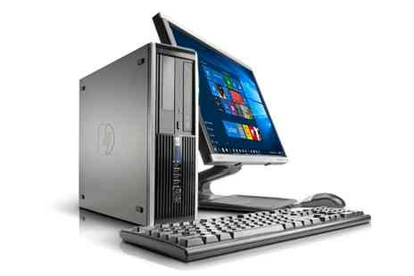 Computer Remarketing Services - Refurbished HP Dc7800/7900 Core 2 Duo or Quad 2.66GHz 4GB 160GB Windows 10 Home PC with Optional Monitor With Free Delivery - Save 0%