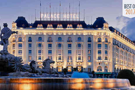 The Westin Palace - Five Star Glamorous Property in the Art Triangle For Two - Save 51%