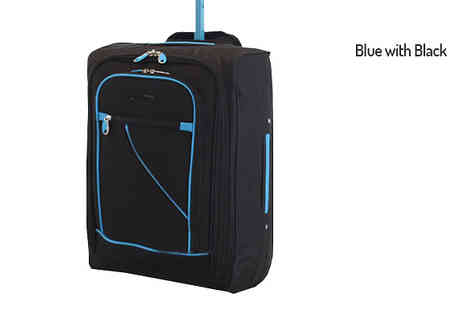 Mscomputers - Cabin Approved Suitcase Available in Three Colours - Save 70%
