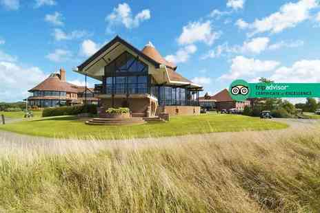 East Sussex National Hotel - Romantic overnight stay for two with two course dinner, breakfast, a Rhassoul mud treatment and leisure club access - Save 39%