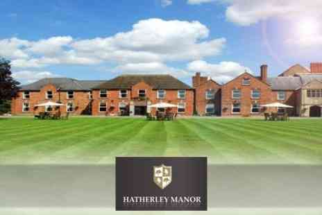 Hatherley Manor Hotel - One Night Stay With Jug of Afternoon Pimms on Arrival and Afternoon Tea For Two - Save 54%