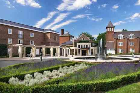 The Belfry - Four Star overnight Warwickshire stay for two with breakfast, bottle of Prosecco and spa access - Save 46%