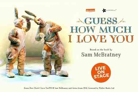 Arts Theatre West End - Ticket to see Guess How Much I Love You Live - Save 50%