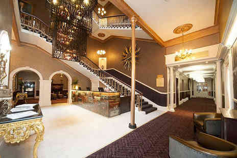Hallmark Hotel The Queen - Overnight stay for two people with breakfast, welcome drink and late checkout of 12pm - Save 41%