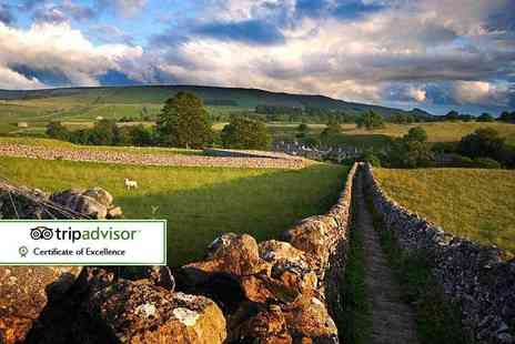 The Tennants Arms Hotel - One or two night Yorkshire Dales stay for two with breakfast - Save 38%