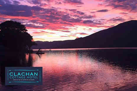 Clachan Cottage Hotel - One or two night Loch Earn stay for two including a full Scottish breakfast and late checkout - Save 50%