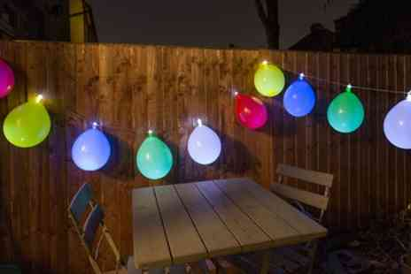 Groupon Goods Global GmbH - Thumbs Up Balloon String Lights - Save 23%