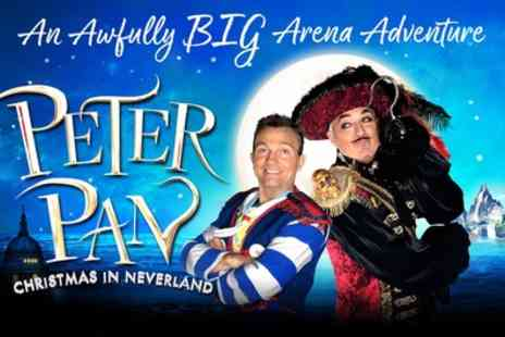 Worlds Biggest Panto - One ticket to see Peter Pan Christmas in Neverland on 29 and 30 Dec 2017 at 3 p.m. and 7 p.m. - Save 24%