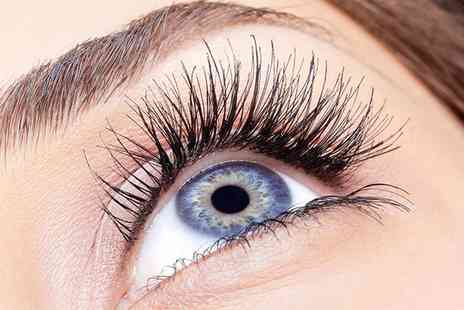 Hb Beauty and Massage - Full Set of Individual Eyelash Extensions - Save 58%