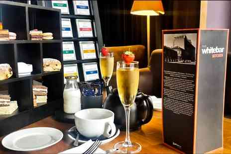 Radisson Blu - Afternoon Tea with Optional Glass of Prosecco for Two or Four at The White Bar - Save 69%