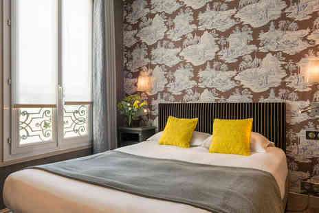 Louison Hotel - Three Star Parisian Retreat in the Heart of the Left Bank For Two - Save 68%