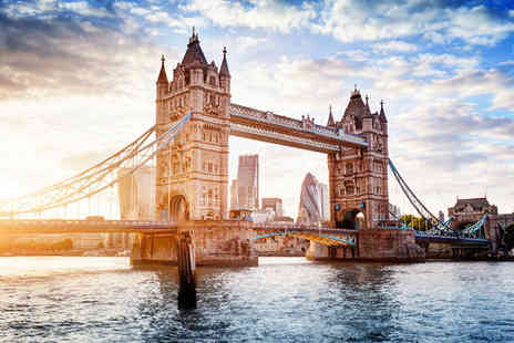 Novotel London West  & Thames River Cruise - Four Star Elegant Hotel & River Cruise Experience For Two - Save 75%