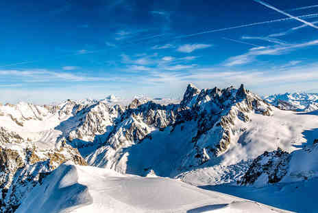 Best Western Plus Excelsior Chamonix - Four Star Panoramic Views of Mont Blanc For two  - Save 77%