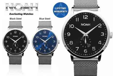 Kendor Van Noah - Slimline watch choose from four designs - Save 76%