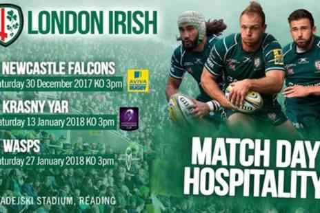 London Irish - Ticket to London Irish Fixtures on 30 December to 27 January - Save 38%