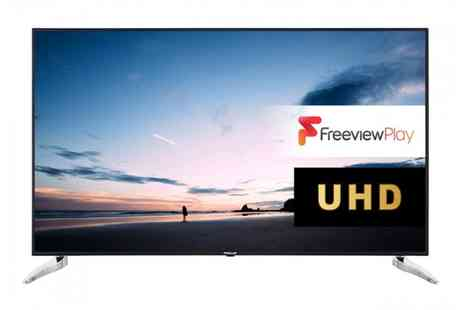 Groupon Goods Global GmbH - Finlux 65 inch 4K Ultra HD Smart TV With Free Delivery - Save 48%