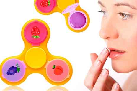 Groupon Goods Global GmbH - One, Two or Three Finger Spinners with Lip Balm - Save 70%