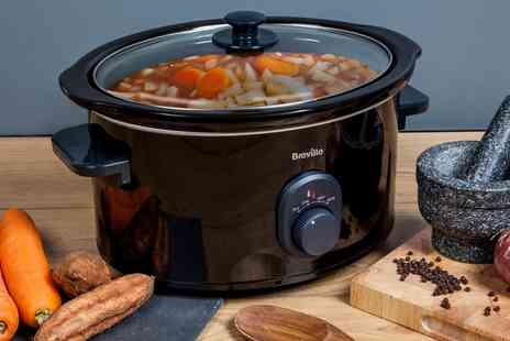 Groupon Goods Global GmbH - Breville 4.5L VTP105 Slow Cooker - Save 64%