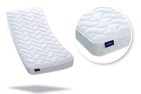 Relaxd - Small single or single, small double or double or king size Jumpi quilted memory flex mattress - Save 86%