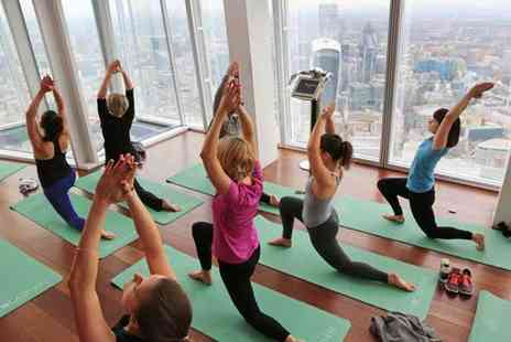 Buyagift - Yoga at the View from the Shard plus a private viewing session - Save 0%