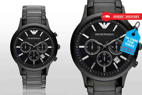 Gray Kingdom - Mens Emporio Armani watch - Save 67%